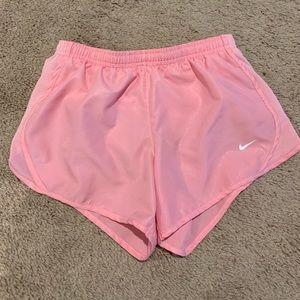 Girls Pink Youth Medium Dri Fit Running Shorts